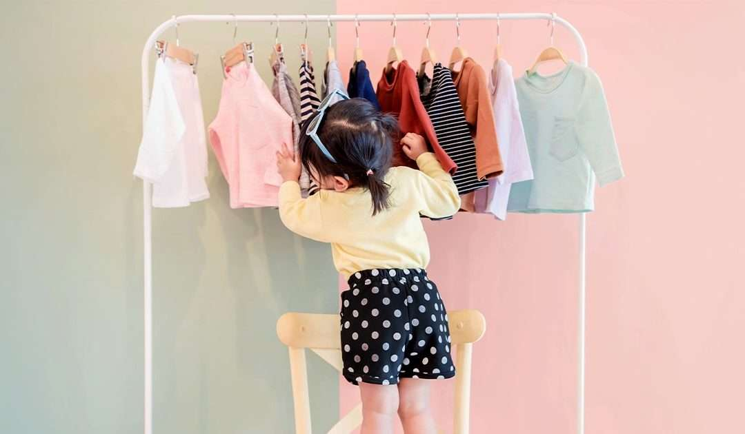 Allestire negozi di abbigliamento per bambini